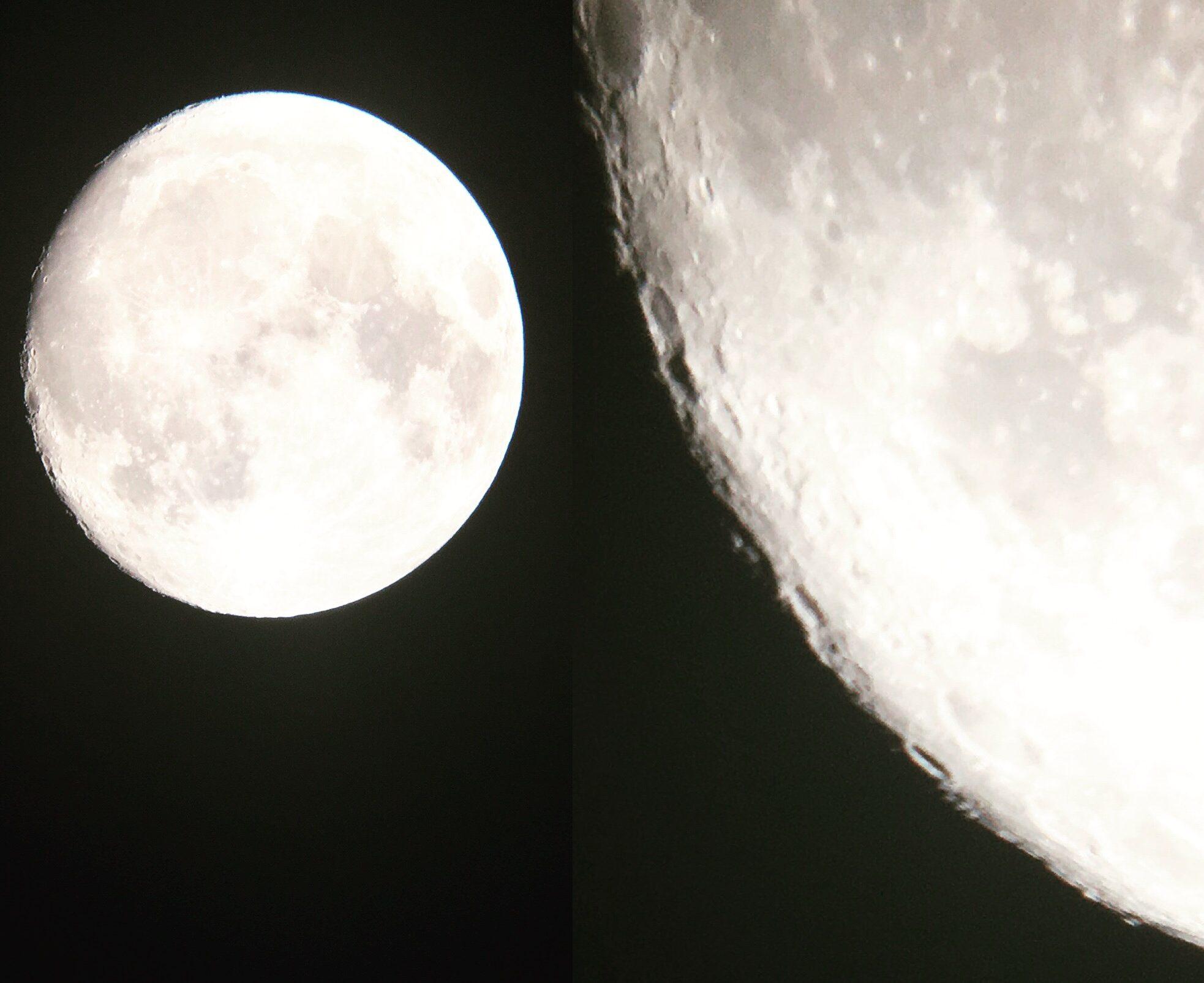 Observação da super lua em Paulo Afonso