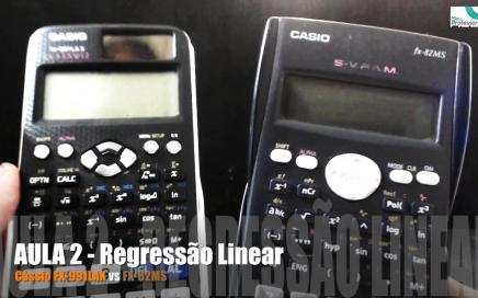 Comparação entre a nova Calculadora Científica Cássio FX-991LAX e a antiga Cássio FX-92MS